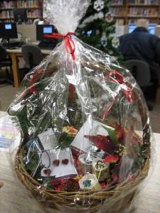 Winter Tree basket