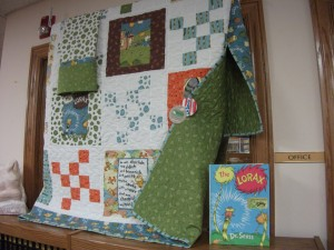 library quilt lorax 001